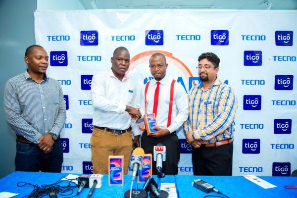 TECNO kwa Kushirikiana na Tigo Yazindua TECNO Spark 4 Tanzania