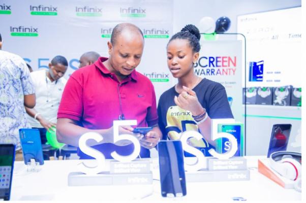 Infinix Yazindua Simu Mpya ya Infinix S5 Nchini Tanzania
