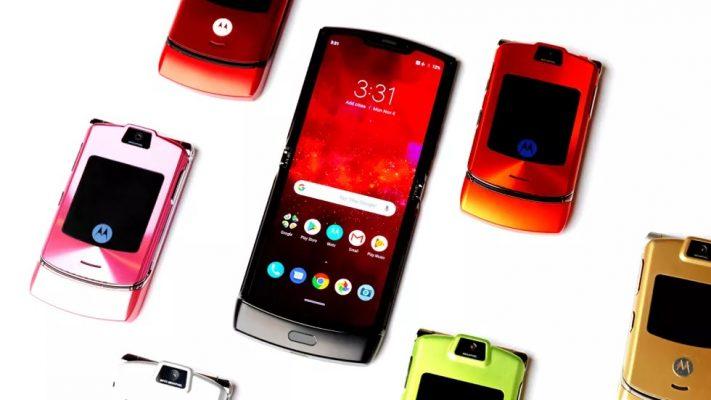 Motorola Yazindua Simu Inayo jikunja ya Motorola Razr (2019)