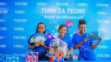 TECNO yaja na Tunu za TECNO Ofa Mpya Kwaajili ya Msimu wa Sikukuu