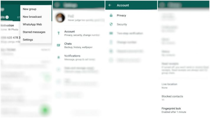 Sasa Tumia Ulinzi wa Fingerprint Kwenye WhatsApp (Android)