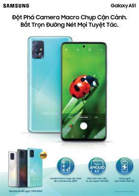 Kampuni ya Samsung Yazindua Simu Mpya ya Galaxy A51