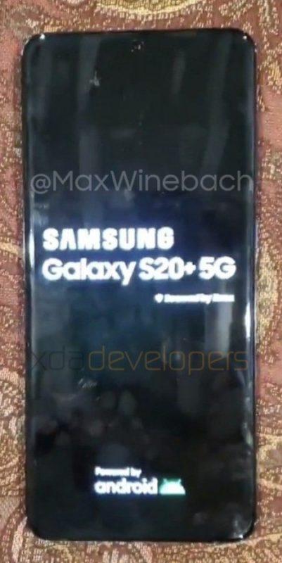 Hizi Hapa Picha Halisi za Simu Mpya ya Samsung Galaxy S20+