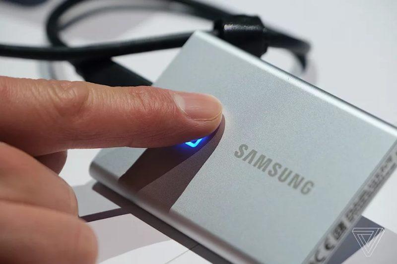 Samsung Yatangaza Ujio wa External Mpya Zenye Fingerprint