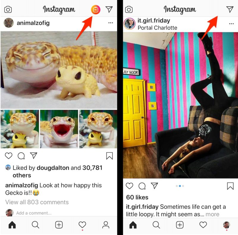 Instagram Yaondoa Kitufe cha IGTV kwenye Ukurasa wa Home