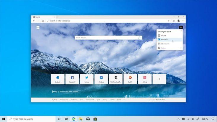 Microsoft Yazindua Kivinjari Kipya cha Microsoft Edge