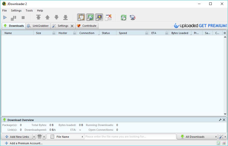 Programu za Kusaidia Kudownload Kwa Haraka (Windows)
