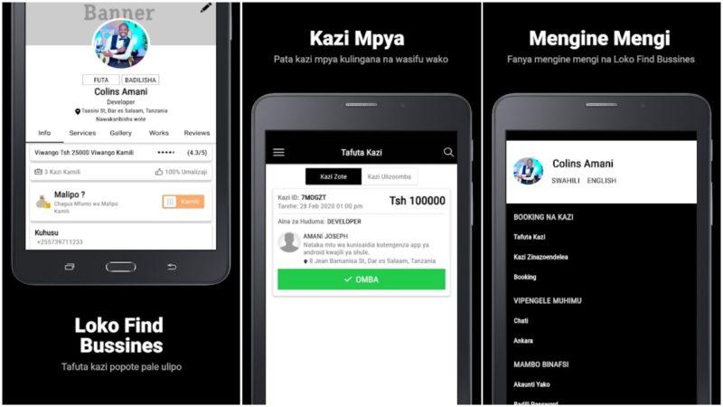 Tafuta Kazi kwa Urahisi Kupitia App Mpya ya Loko Find