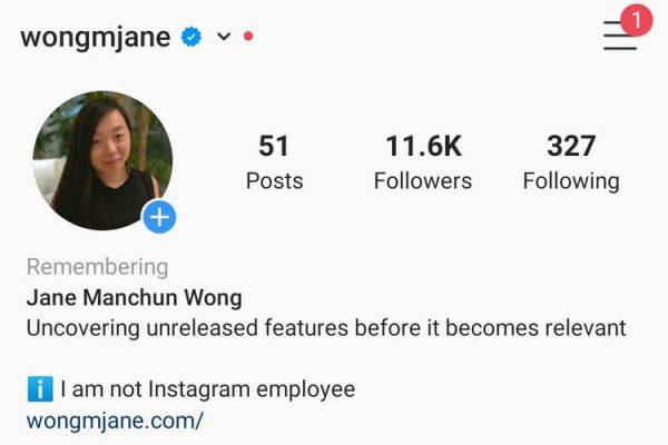 Instagram Kuja na Profile Maalum Kwaajili ya Walioaga Dunia