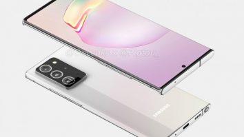 Tetesi : Picha za Muonekano wa Simu Mpya ya Galaxy Note 20