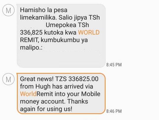 Jinsi ya Kupokea Pesa Kutoka Nje ya Nchi Kuja Tanzania (Bure)