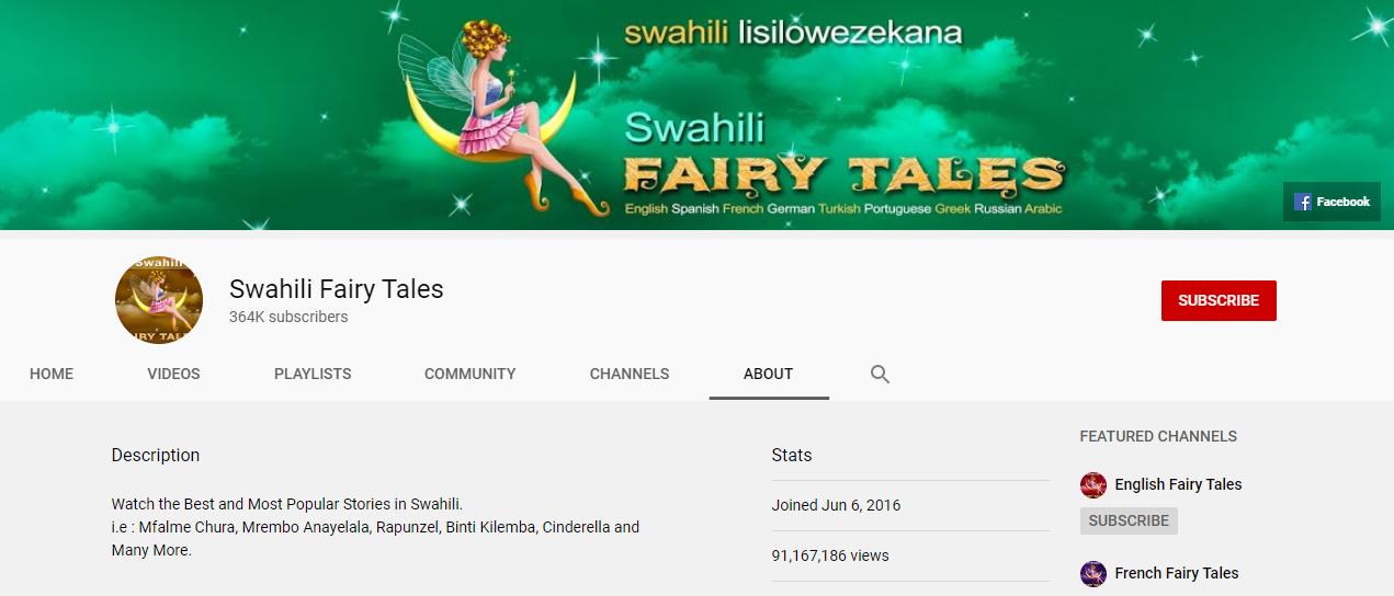 Channel Nzuri za Watanzania Kupitia Mtandao wa YouTube