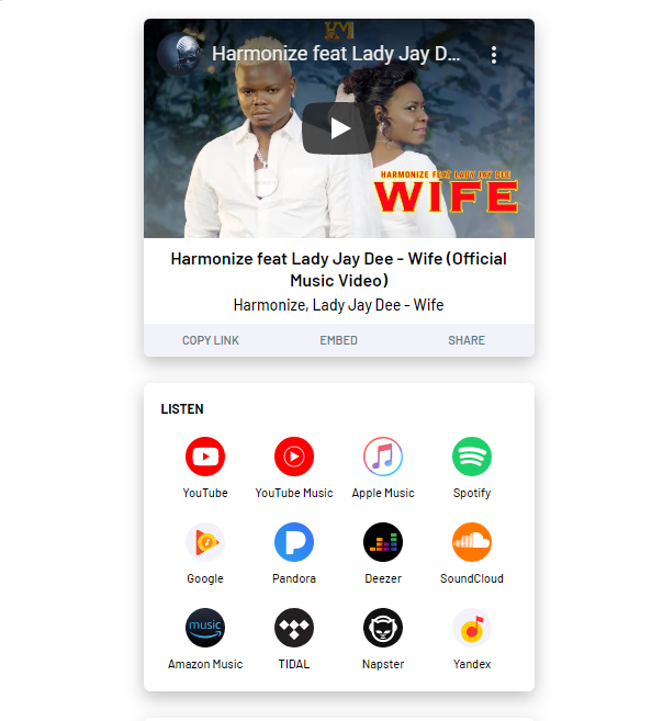 Badilisha Link za Muziki Kutoka Tovuti Moja Kwenda Nyingine