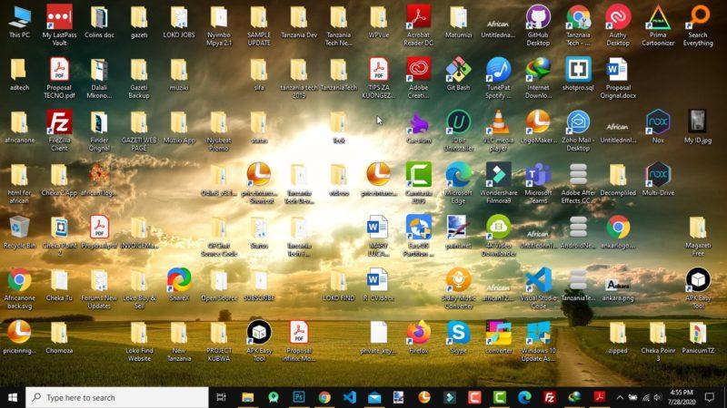 Programu za Kusaidia Kutafuta Mafile kwenye Kompyuta (Windows)