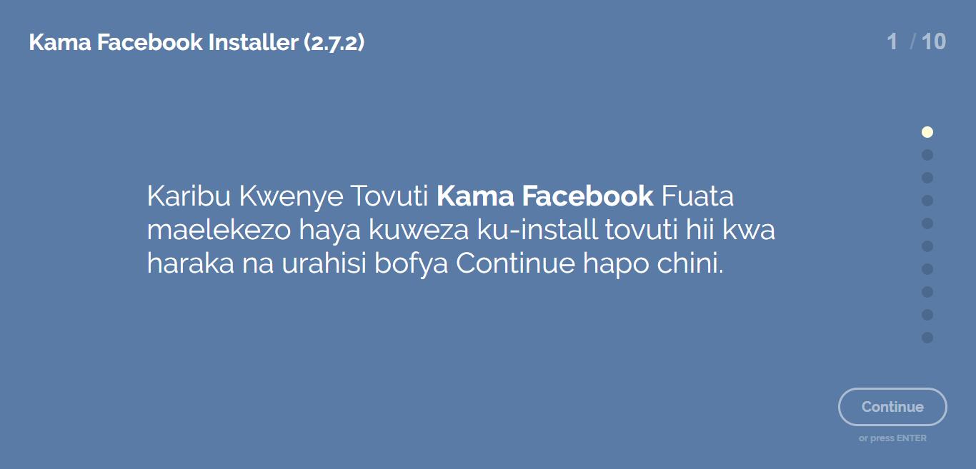 Jinsi ya Kutengeneza Tovuti Kama Facebook Ndani ya DK 15