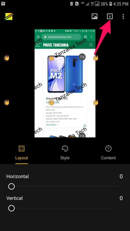 Jinsi ya Kuweka Alama (Watermark) Kwenye Picha (Android)