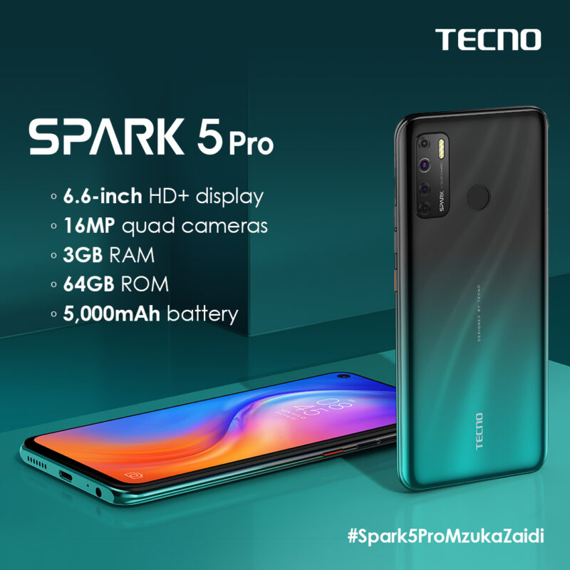 Wateja Wanaongea Nini Kuhusu Simu ya TECNO Spark 5 Pro