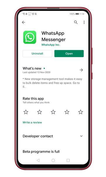 Jinsi ya Kutuma Meseji Zinazojifuta Zenyewe WhatsApp