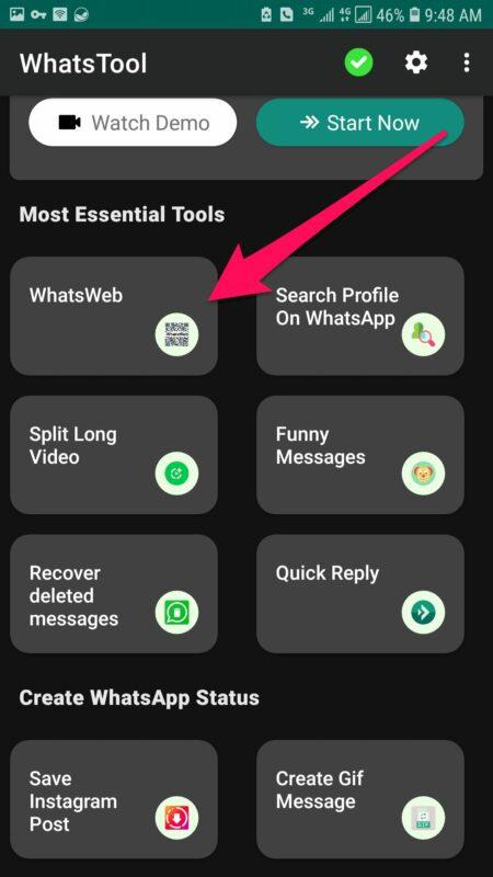 Tumia Programu ya WhatsApp Kipekee Kwa Kutumia Njia Hii