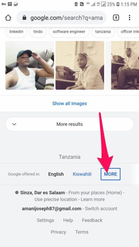 Jinsi ya Kujiweka kwenye Google Search Kama Mtu Maarufu