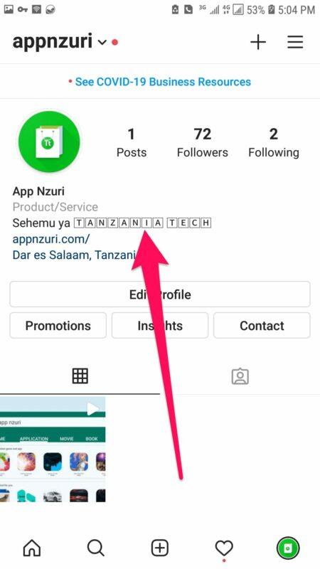 Jinsi ya Kupata Views na Likes Nyingi Instagram Kupitia Font