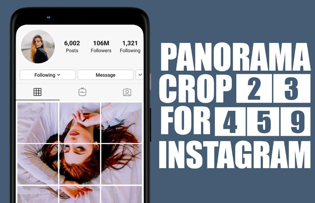 Jinsi ya Kutengeneza Picha za Instagram Grid na Panorama