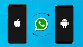 Jinsi ya Kuhamisha Chats za WhatsApp Android kwenda iOS