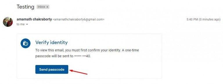 Jinsi ya Kutuma Barua Pepe ya Siri Kupitia Google Gmail