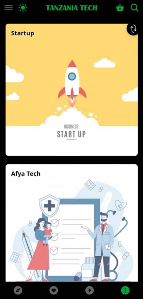 Jaribu App Mpya ya Tanzania Tech Lite