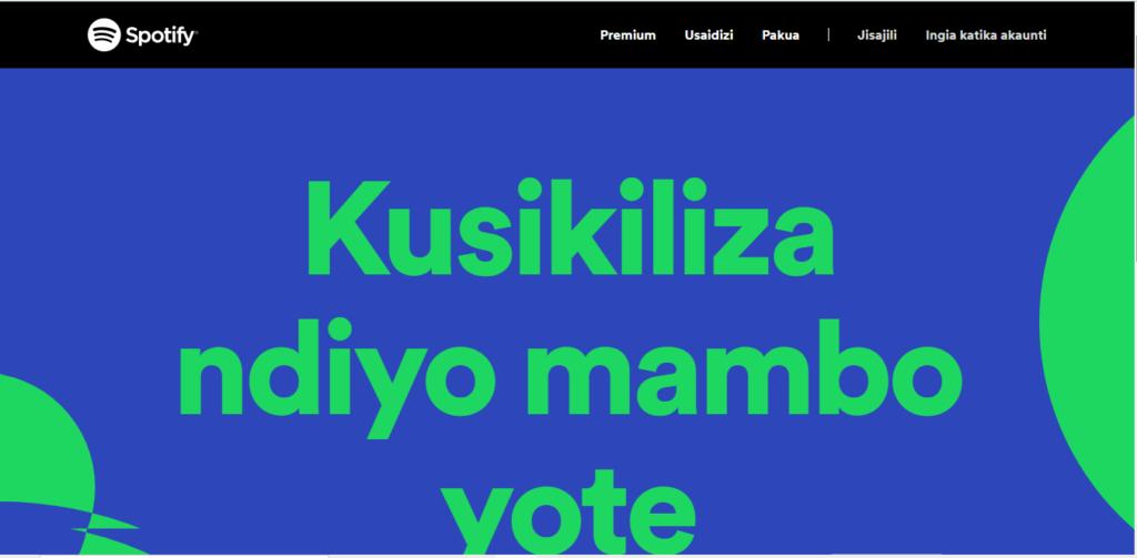 Mtandao wa Spotify Wazinduliwa Rasmi Hapa Tanzania