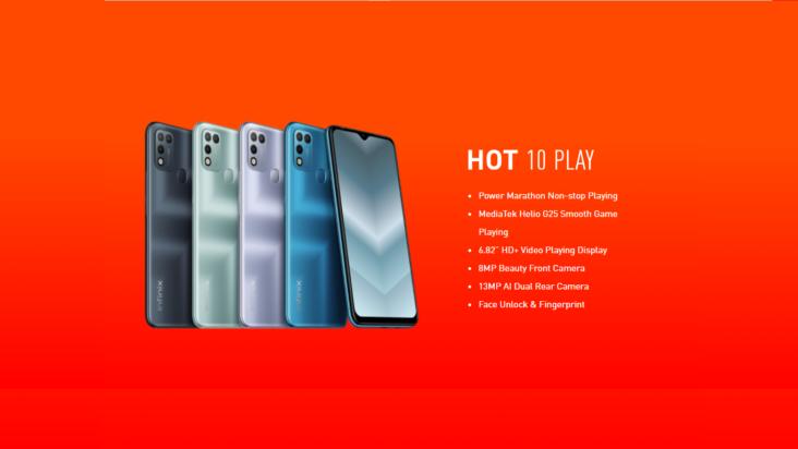 Kampuni ya Infinix Yazindua Simu Mpya ya Infinix Hot 10 Play