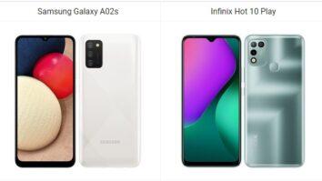 Tofauti ya Infinix Hot 10 Play na Samsung Galaxy A02s