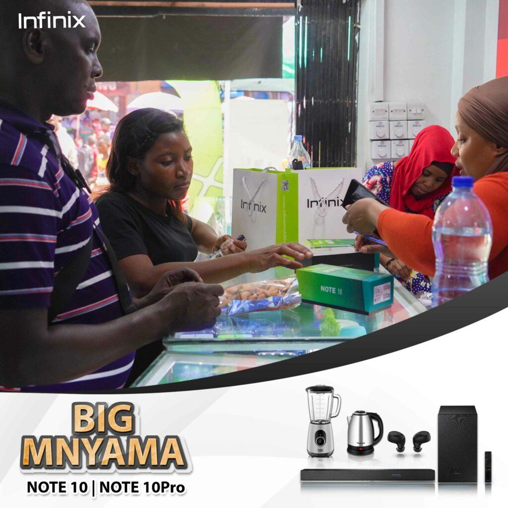 Promosheni ya Hitimisho ya Infinix NOTE 10 Big Mnyama