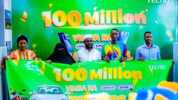 Washindi Promosheni ya 100 Million Vimba na Camon 17 na Spark 7