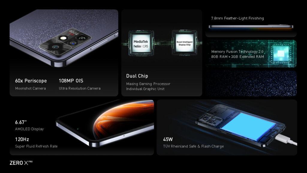 Kampuni ya Infinix Yazindua Simu Mpya ya Infinix Zero X Pro